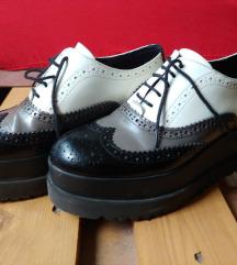 Jonak Paris usnjeni čevlji s platformo, mpc 155€