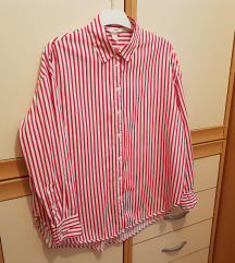 Oversize srajca striped shirt