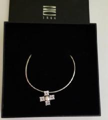 srebrna ogrlica Zlatarne Celje