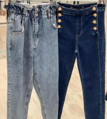 Jeans visok pas