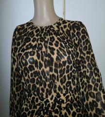 Nova poletna tigrasta obleka/odprt hrbet