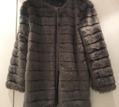 REZERVIRAN! Fur plašček 36, S/M