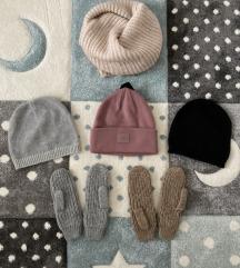 Kape in rokavice H&M