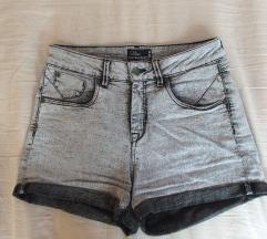sive kratke hlače s visokim pasom +ptt