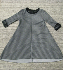 Siva obleka/tunika S