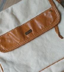 URKO torbica bombaž & usnje