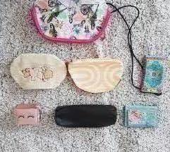 denarnice, make-up torbice in peresnice