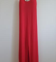 Rdeča večerna obleka M