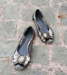 TAMARIS št. 37 pravo usnje bronz sandali