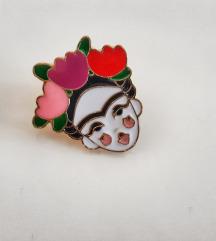 Frida Kahlo broška/enamel pin