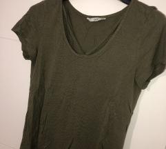 Olivno zelena kratka majica
