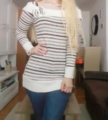 M Pleten pulover / tunika