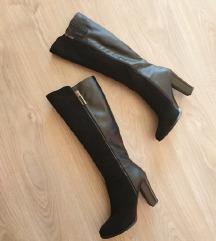 Novi črni škornji s peto 39 Jenny Fairy