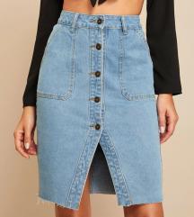 Jeans - dolgo krilo