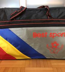Retro športna torba