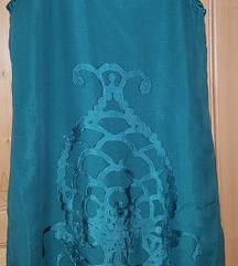 Obleka+bolero,prava svila,vel.38 Jones