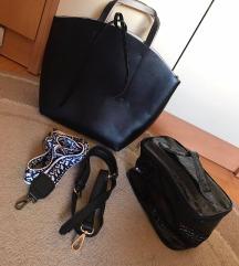 Zara črna torba