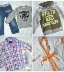Komplet oblačil za fantka, 4-5 let