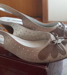 Novi čevlji, sandali, usnje, št. 39,5