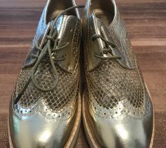 Zlati oxford čevlji