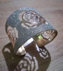 Srebrno-zlata zapestnica