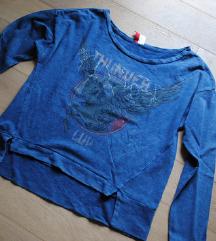H&m NOV pulover s samorogom