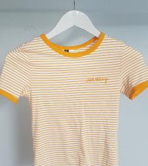H&M poletna majica s kratkimi rokavi