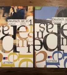 Deutsch ist in 1-delov. zvezek in učbenik-NOVO