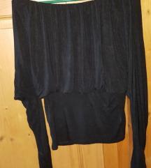 Viskozna črna tunika,vel. 38-40