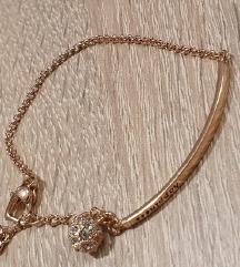 Zlata zapestnica-nerjaveče jeklo,nova