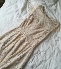 Nova elegantna čipkasta oblekica