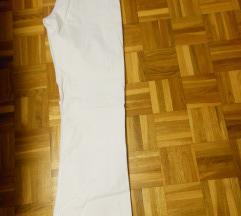 Ženske bele jeans hlače kavbojke 42