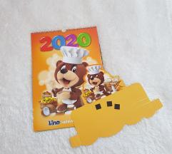 LINO 2020 koledar z nalepkami in poštnino