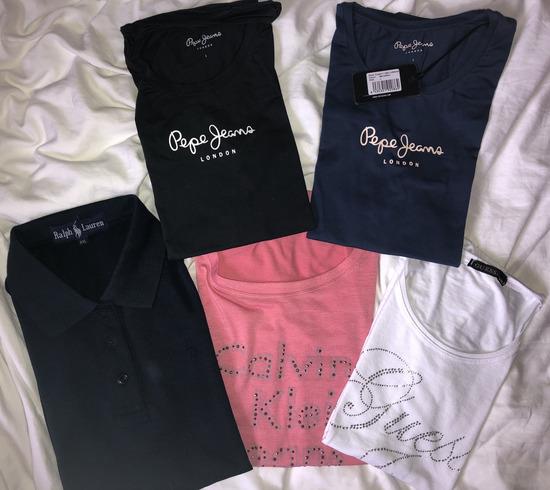 Firmirane majice (ck, guess, ralph lauren)