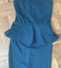 Terranova peplum obleka