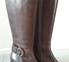 Rjavi usnjeni škornji Emporium