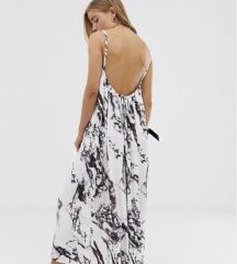 Maxi - dolga obleka z odprtim hrbtom xs-s MPC 49€