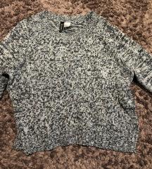 Kratek pleten pulover H&M