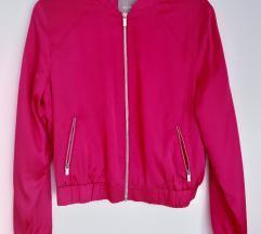 Pink, roza bomber jakna