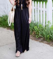 Crna dolga obleka