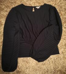 H&m temno moder pulover
