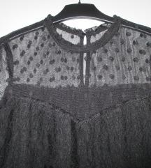 Zara črna obleka