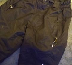 Črne smučarske hlače clima tex