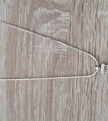 Srebrna verižica z obeskom(pravo srebro 925)