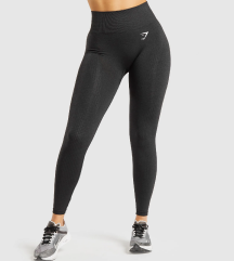 Gymshark Vital Seamless Leggings - Black Marl