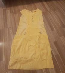 Rumena poletna obleka S/M