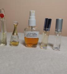 Točeni parfumi (designer in niche)