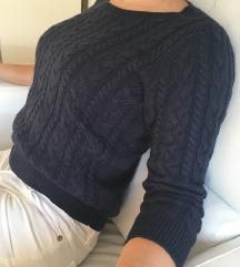 pulover rjav S