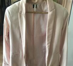 Nude roza blazer