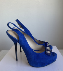 Modri sandali Zara 38
